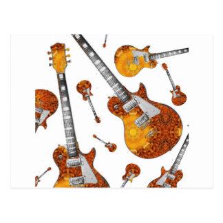 Guitarra elétrica 12.jpg cartão postal