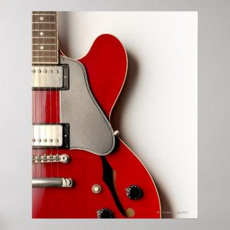 Guitarra elétrica 12 pôster