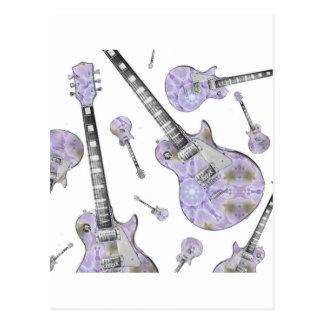Guitarra elétrica 15.jpg cartão postal