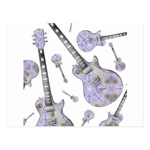 Guitarra elétrica 15.jpg cartao postal