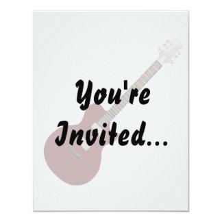 guitarra elétrica burgundy.png convites personalizado