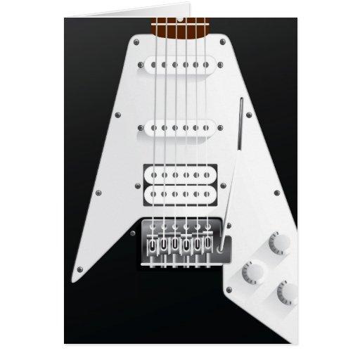 Guitarra elétrica cartoes
