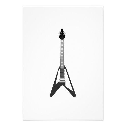 Guitarra elétrica convites