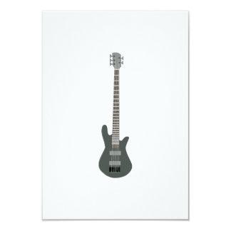 Guitarra elétrica convite 8.89 x 12.7cm