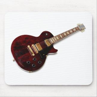 Guitarra elétrica do vintage mouse pad