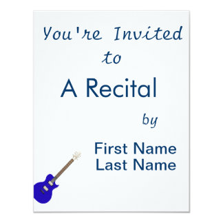 guitarra elétrica graphic.png azul convite 10.79 x 13.97cm