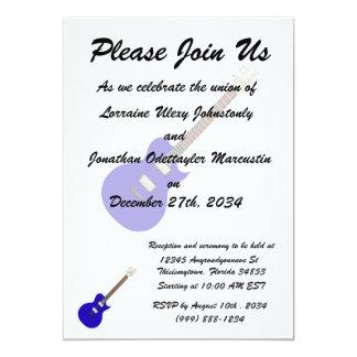guitarra elétrica graphic.png azul convite 12.7 x 17.78cm