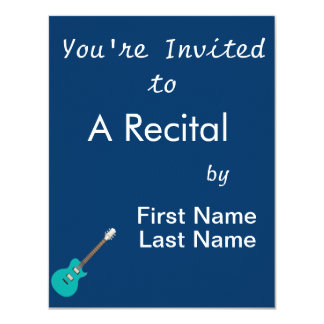 guitarra elétrica teal.png convite 10.79 x 13.97cm