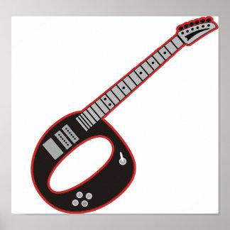 Guitarra O Poster