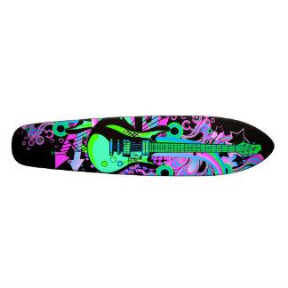 Guitarra selvagem (preto) skates