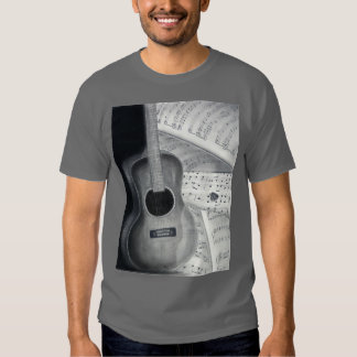 Guitarra & Tshirt da partitura