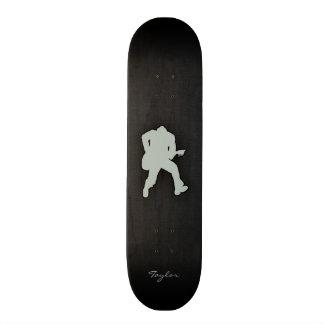 Guitarrista das cinzas de cinza skate boards