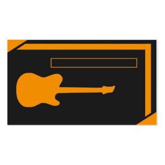 Guitarrista/músico Cartão De Visita