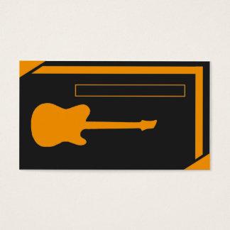Guitarrista/músico Cartão De Visitas
