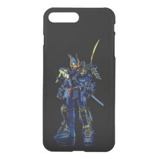 Gundam preto iPhone7 raro mais Clearly™ Defle Capa iPhone 7 Plus