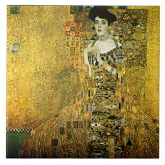 Gustavo Klimt a senhora dourada Cerâmica