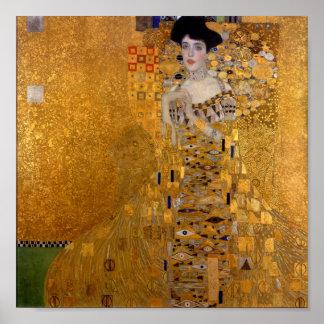 Gustavo Klimt - Adele Bloch-Bauer I. Pôster