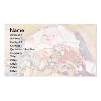 Gustavo Klimt - bebê Cartão De Visita