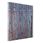 Gustavo Klimt - Buchenhain Impressão Em Canvas