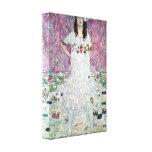 Gustavo Klimt - Eugenia Primavesi Impressão De Canvas Esticada