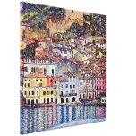 Gustavo Klimt - Malcesine no lago Garda Impressão Em Canvas