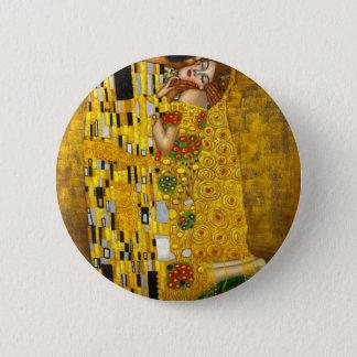 Gustavo Klimt o beijo Bóton Redondo 5.08cm