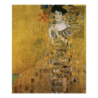 Gustavo Klimt - retrato de Adele Bloch Bauer Poster