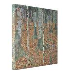 Gustavo Klimt - vidoeiro Impressão De Canvas Esticada