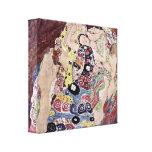 Gustavo Klimt - virgens Impressão Em Canvas