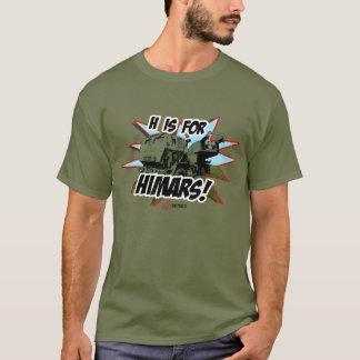 H é para a camisa de HIMARS T