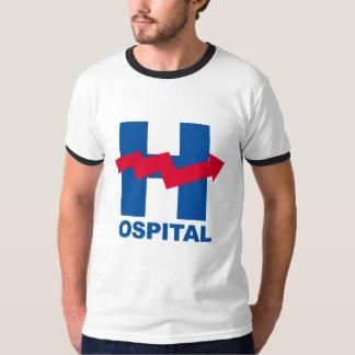 H é para o hospital de Hillary -- Eleição 2016 - Camiseta