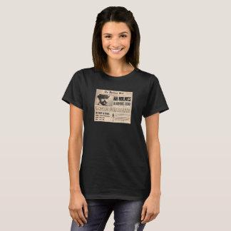 H.H. Camisa do T das mulheres da notícia de Holmes