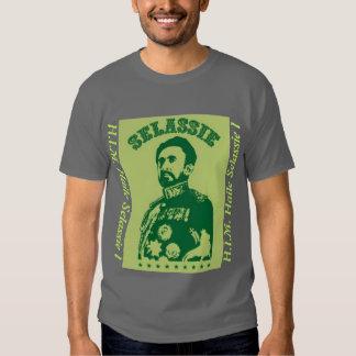 H.I.M. Haile Selassie mim camisa Tshirts