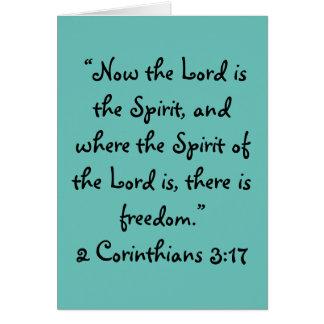 """""""Há cartão da escritura da liberdade"""""""