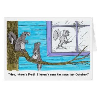 HÁ cartão de FRED