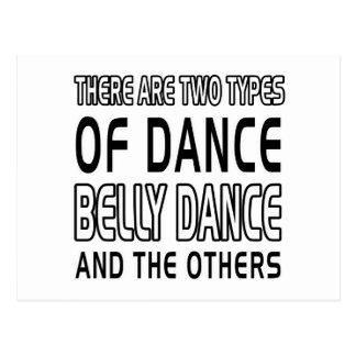 Há dois tipos de dança do ventre da dança cartao postal