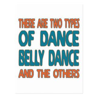 Há dois tipos de dança do ventre da dança e do o cartões postais