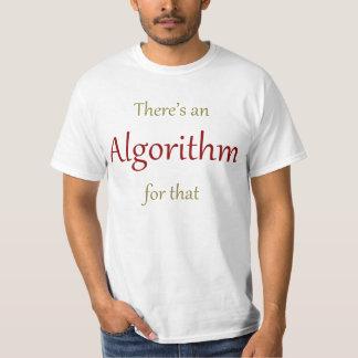 Há um algoritmo para aquele camiseta