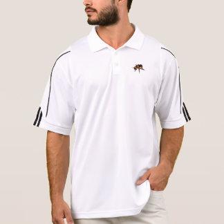 Há uma abelha do mel em sua camisa! camisa polo