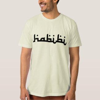 Habibi artístico camiseta
