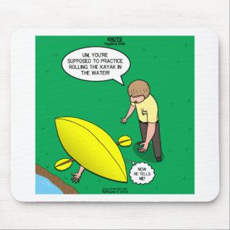Habilidades Kayaking Mouse Pad
