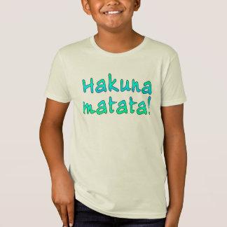 Hakuna Matata em t-shirt, Hoodies, canecas Camiseta