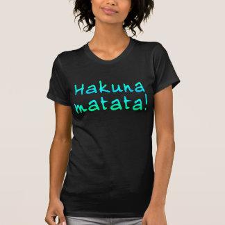 Hakuna Matata em t-shirt, Hoodies, canecas Tshirt
