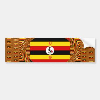 Hakuna surpreendente bonito Matata Uganda bonito Adesivo Para Carro