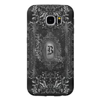 Hallow o monograma do gótico do Victorian da Capas Samsung Galaxy S6