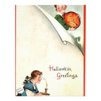 HALLOWEEN-60 PANFLETO PERSONALIZADOS