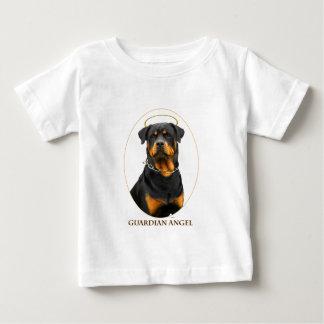 halo do rottweiler do anjo-da-guarda tshirt