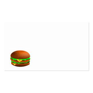 Hamburger Cartão De Visita