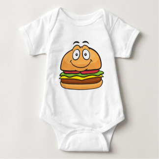 Hamburger Emoji Body Para Bebê