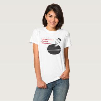 Hamburguer supremo do comedor tshirts